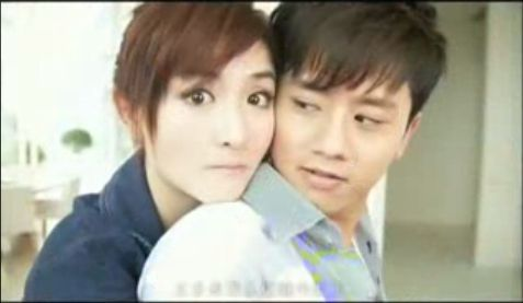 Xie Na and Zhang Jie in his mv, After tomorrow