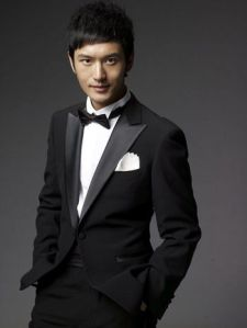 Huang Xiaoming looking princely