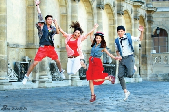 What's better than awesome actors, Qiong Yao, and medieval castles combined? All those, plus dance numbers and music!