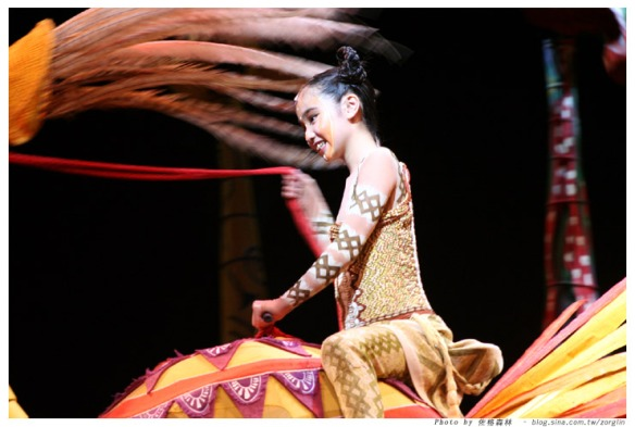 Before shooting to fame with her hit single Ai Ni 愛你 , Kimberley Chen played Young Nala in the Australian Lion King. In 2006, Kimberley performed in Shanghai as part of the Australian Asia tour. Photo credit: Zorg Lin