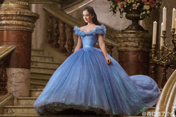 Yang Mi as Cinderella, I'd watch that.