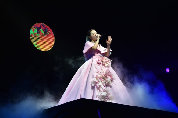 Jane Zhang at Changsha concert