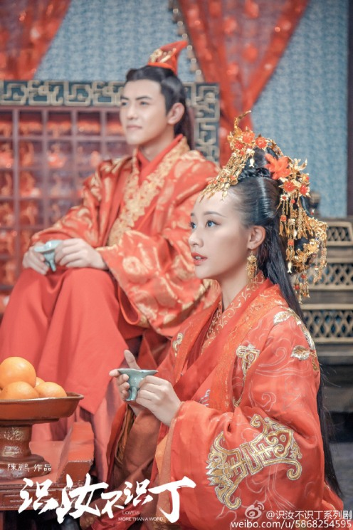 ... and this is really not the actress playing Prince Jing's wife.